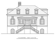 The Sandpiper Charleston House Plan by New South Classics